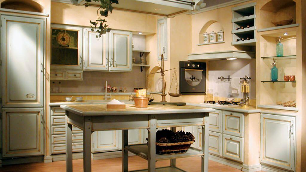 Kitchen Provenza Azzurra first detail