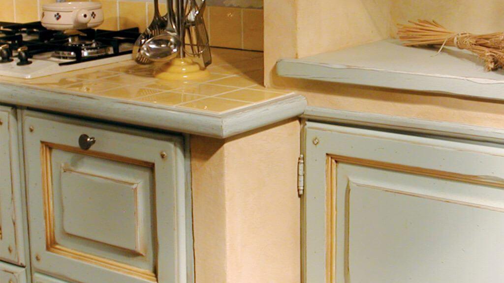 Kitchen Provenza Azzurra third detail