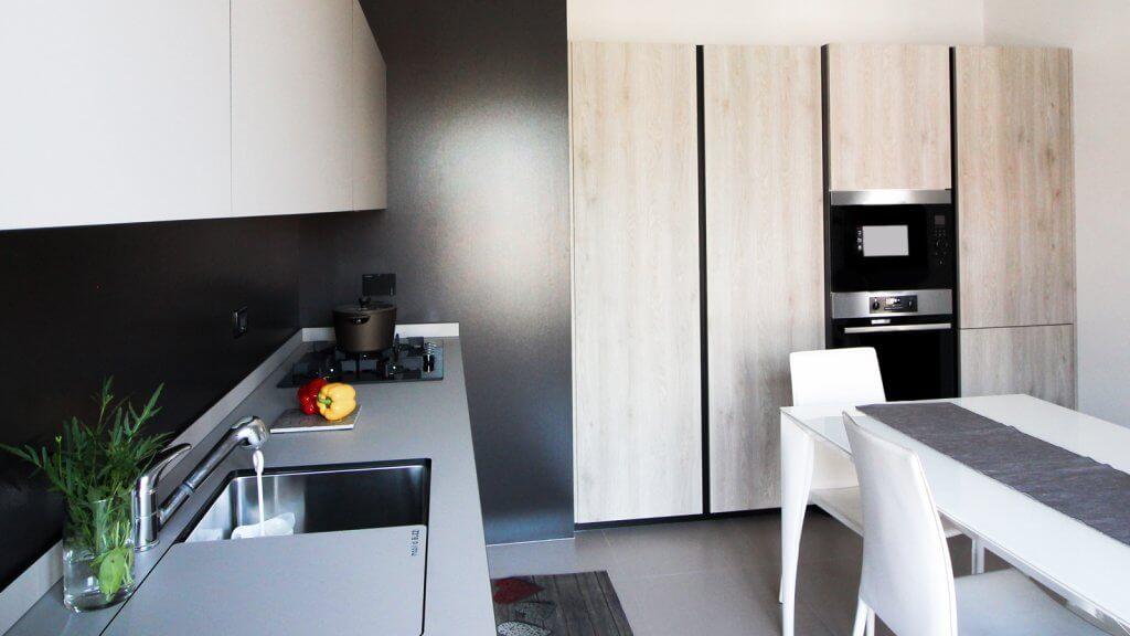 Piano Di Lavoro Cucina Altezza.Cucina Metrica Mobilibuzzi